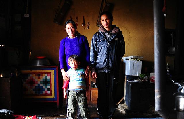 Farmer's family - Bhutan