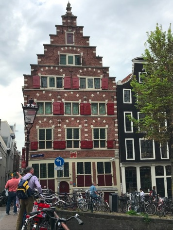 The crooked houses of Amsterdam