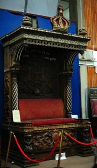 The Emperor's throne